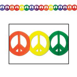 Girlande Peace Sign
