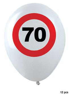 Ballon 70 Jahre Traffic Sign