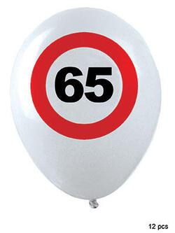 Ballon 65 Jahre Traffic Sign