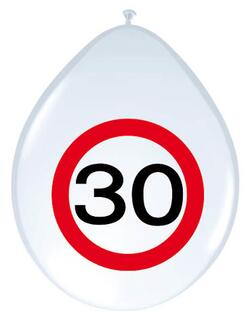 Ballon 30 Jahre Traffic Sign