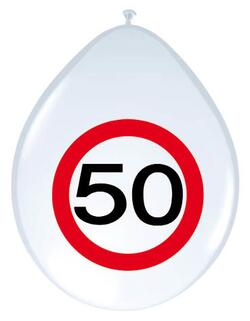 Ballon 50 Jahre Traffic Sign