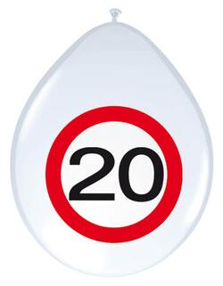 Ballon 20 Jahre Traffic Sign