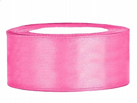 Satinband 25 mm Pink
