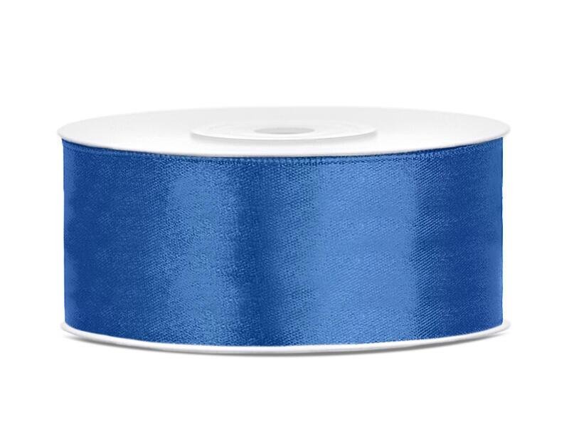 Satinband 25 mm Royal Blau