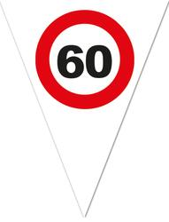 Wimpelkette 60 Jahre Traffic Sign