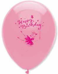Ballone Happy Birthday Pink