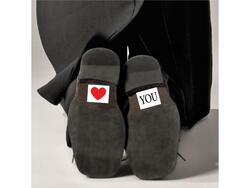 "Schuh Aufkleber ""HEART AND YOU"""