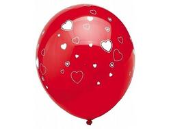 Royal Red Ballon Herzen