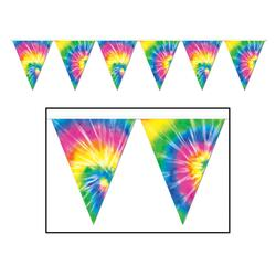 Tie-Dyed Wimpel Banner