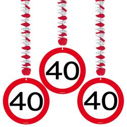 40 Jahre Hänger Traffic Sign