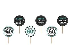 Cupcake Topper 60 Jahre