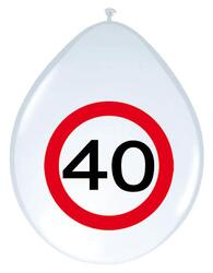 Ballon 40 Jahre Traffic Sign